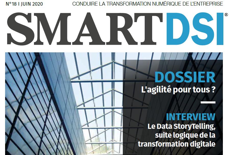 Juin 2020, SMART DSI renouvelle sa position de média d'information privilégié vers les Décideurs IT et Métiers !